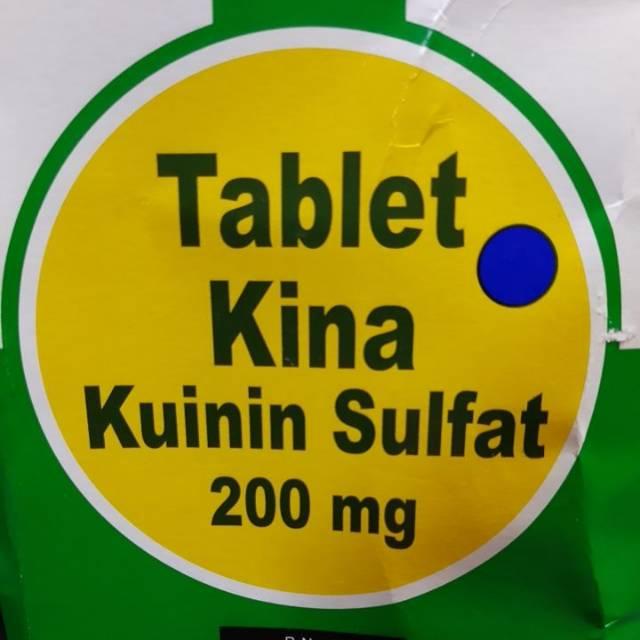 Tablet Kina 200mg Pil Kina Shopee Indonesia