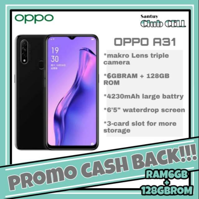 OPPO A31 RAM 6GB