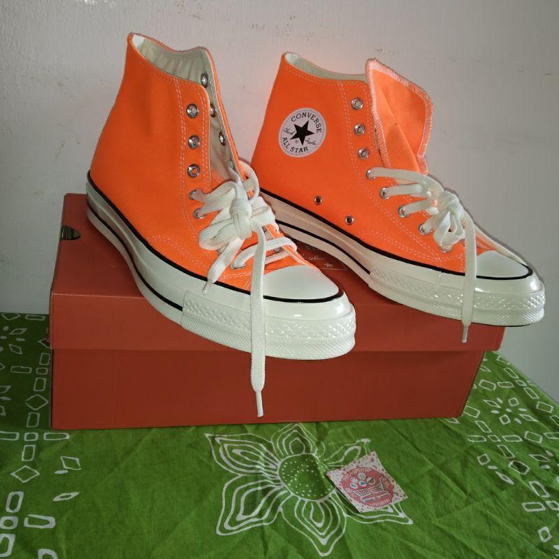Sepatu Converse Chuck Taylor All Star 70 Vintage Canvas Hi 167700C Original