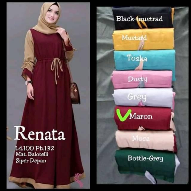 Gamis Renata Balotelly Shopee Indonesia