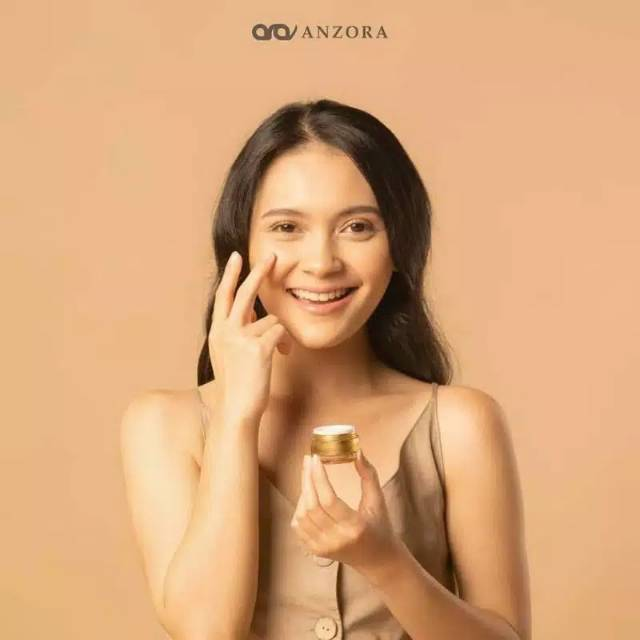 Distributor resmi anzora skincare/cream siang/day cream/sun screen/anzora glow/anzora acne