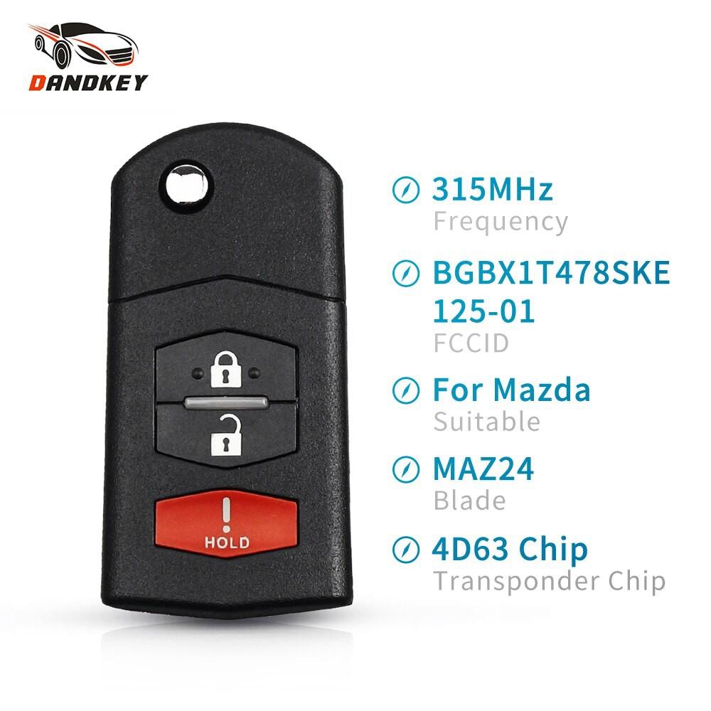 2 Remote For 2009 2010 2011 2012 2013 Mazda 6 Smart Keyless Entry Car Key Fob