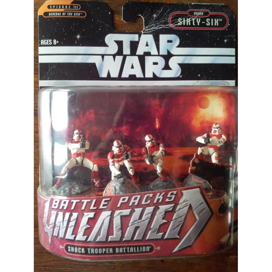 Star Wars Clone Trooper Order 66 Unleashed Hasbro Mint Shopee Indonesia