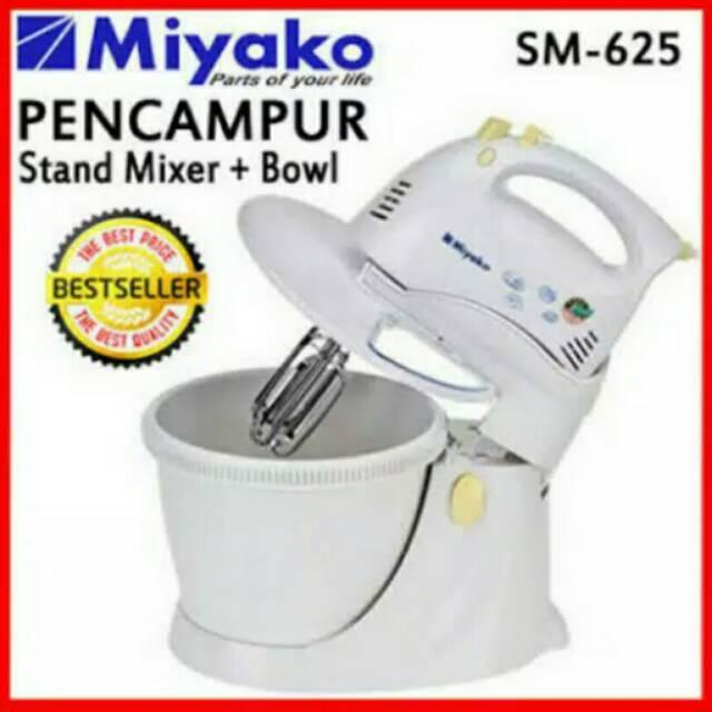 Turun Harga Stand Mixer Miyako Sm 625 Free Ongkir Termurah