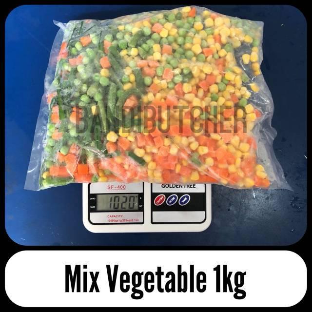 Mix Vegetables Sayuran Steak Sup Jagung Buncis Wortel Polong Bandi Shopee Indonesia
