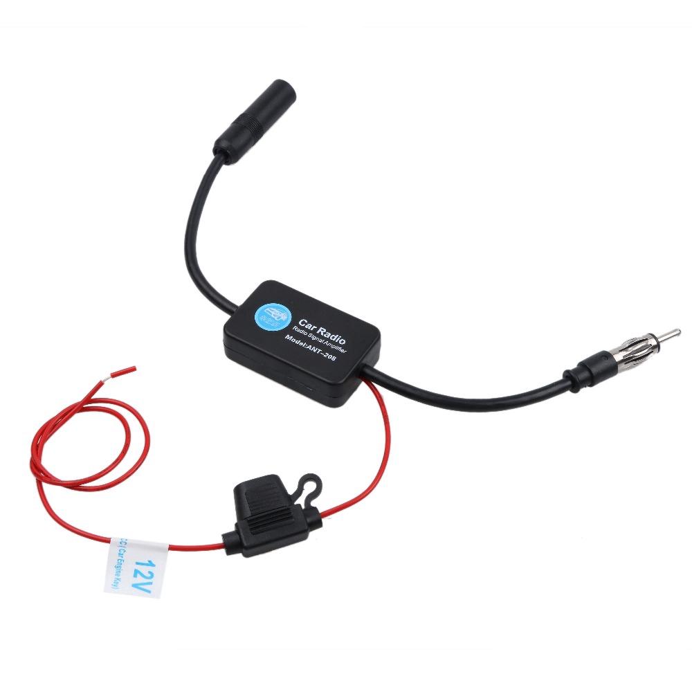 Antena Penguat Sinyal Radio FM / AM 12V Universal untuk Mobil