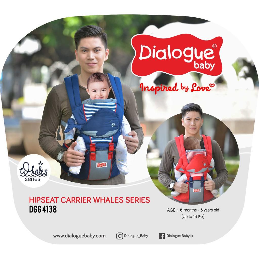 Gendongan Ransel Dialogue Baby Cute Shopee Indonesia Carrier 2 In 1 Sirkulasi Owl Series Hijau
