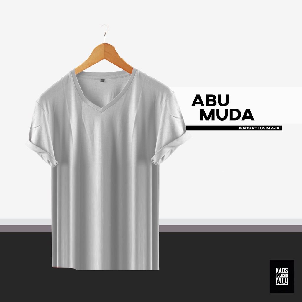 Ramayana Ar89 Kaos Tshirt Equal Abu Muda Shopee Indonesia Hitam M