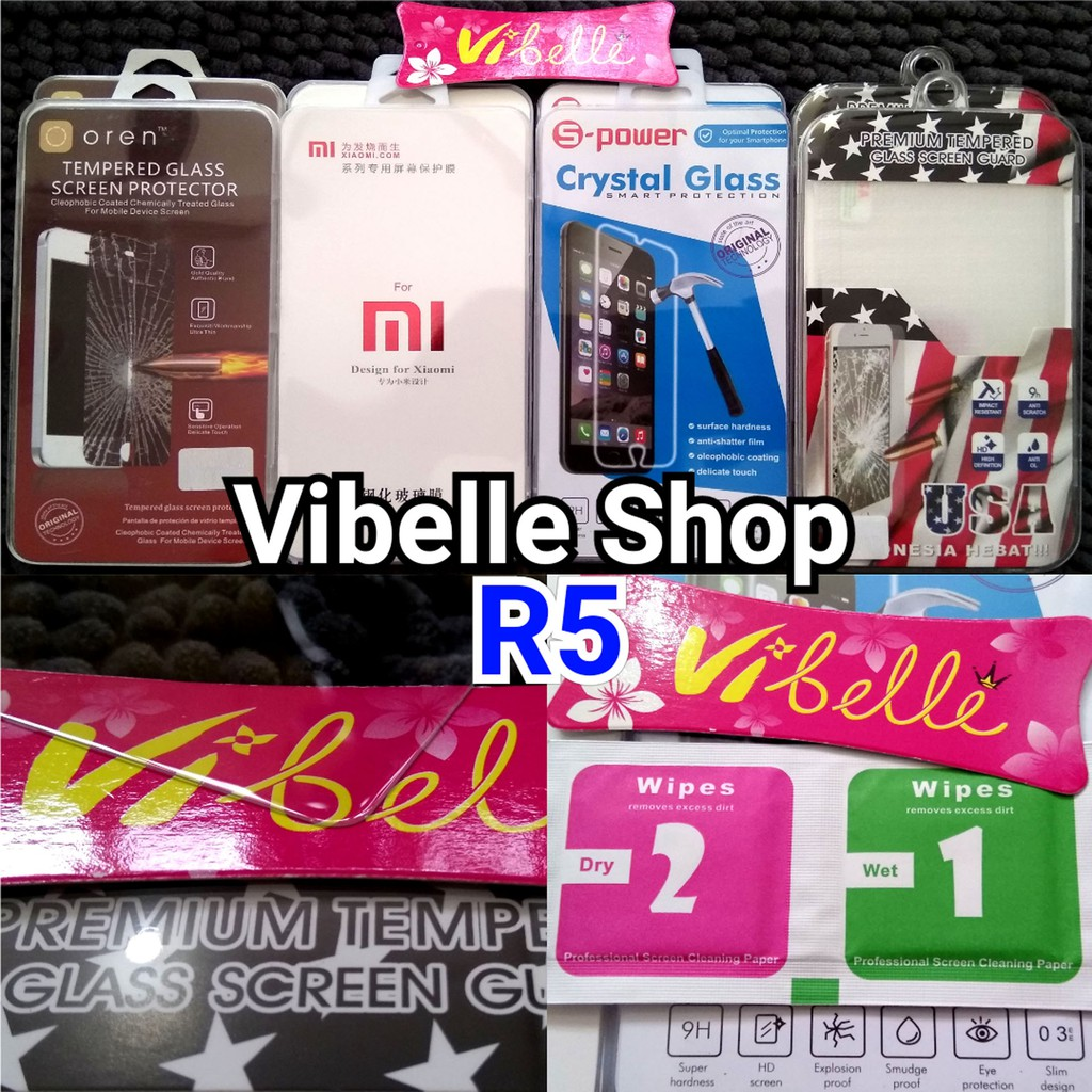 Tempered Glass Samsung Iphone Xiaomi Oppo Asus Lenovo Vivo Andromax K Box Anti Gores Y15 Clear Shopee Indonesia