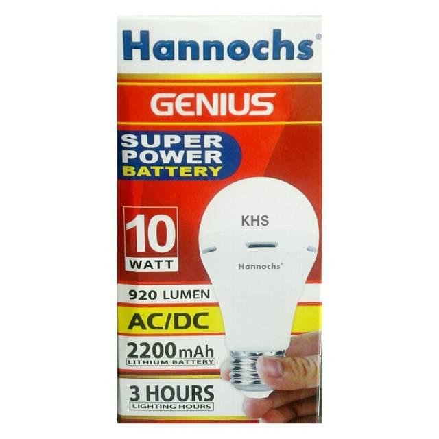 #Terlaris# Lampu Led emergency/Magic/Darurat/Cas 8 watt Hannochs Genius // | Shopee Indonesia