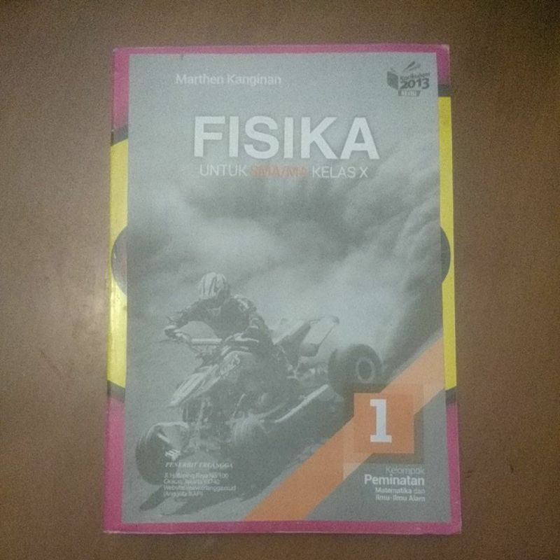 Buku Fisika SMA Kelas X-10 Erlangga