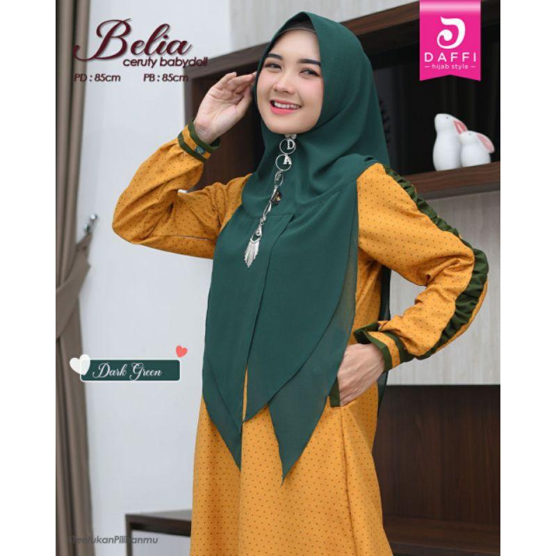 Belia Daffi [Belia] | [Daffi] Hijab | Hijab Instan Daffi | Jilbab Instan Daffi Belia