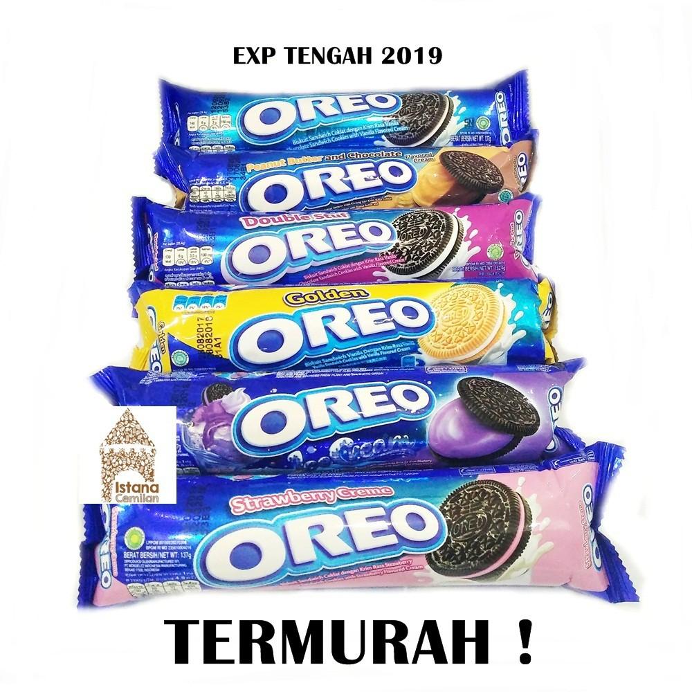 Oreo Roll Biscuit Cream Aneka Pilihan Rasa Shopee Indonesia