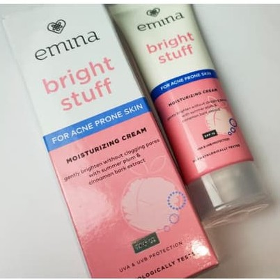 New Emina Bright Stuff For Acne Prone Skin Moisturizing ...