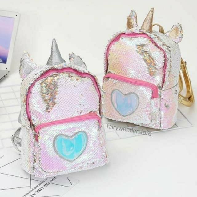 harga tas unicorn berubah warna  tas baru