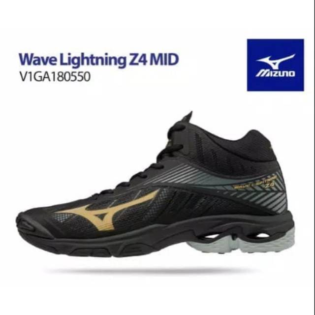 SEPATU VOLI MIZUNO WAVE LIGHTNING Z4 MID ORIGINAL NEW  18829b0203