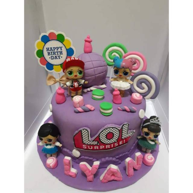 Kue Ulang Tahun LOL / Cake LOL