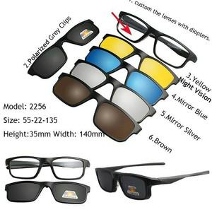 Kacamata   Frame Clip On Free 5 Lensa 2201 + Cairan Pembersih ... f5460be377