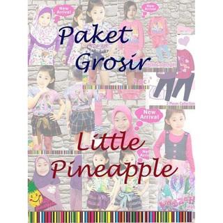 Grosir Baju Anak Paket Grosir Little Pineapple Pk003 Shopee Indonesia