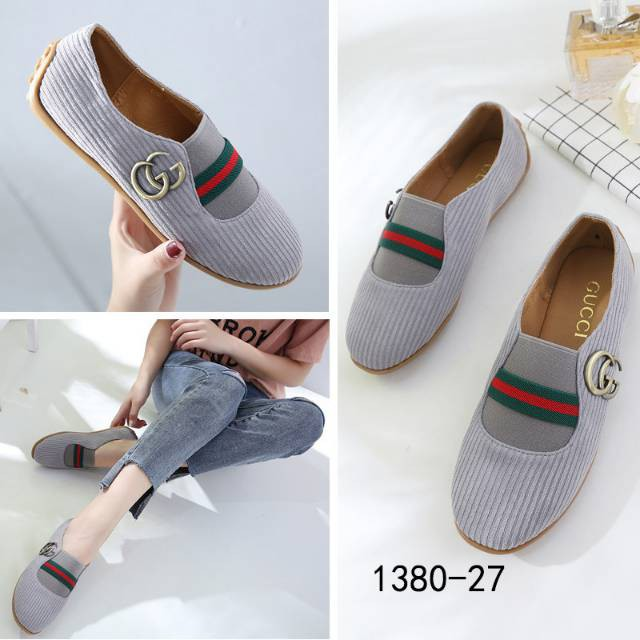 GUCCI Classic Leather Loafers 508-1150  0b92dcc463