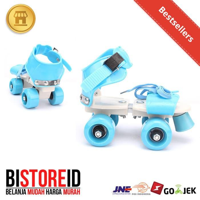 Sepatu Roda Ban Karet Pu Model Bajaj Inline Skate Sm L +Deker Mainan Dan  Hobi  5e9cd47752