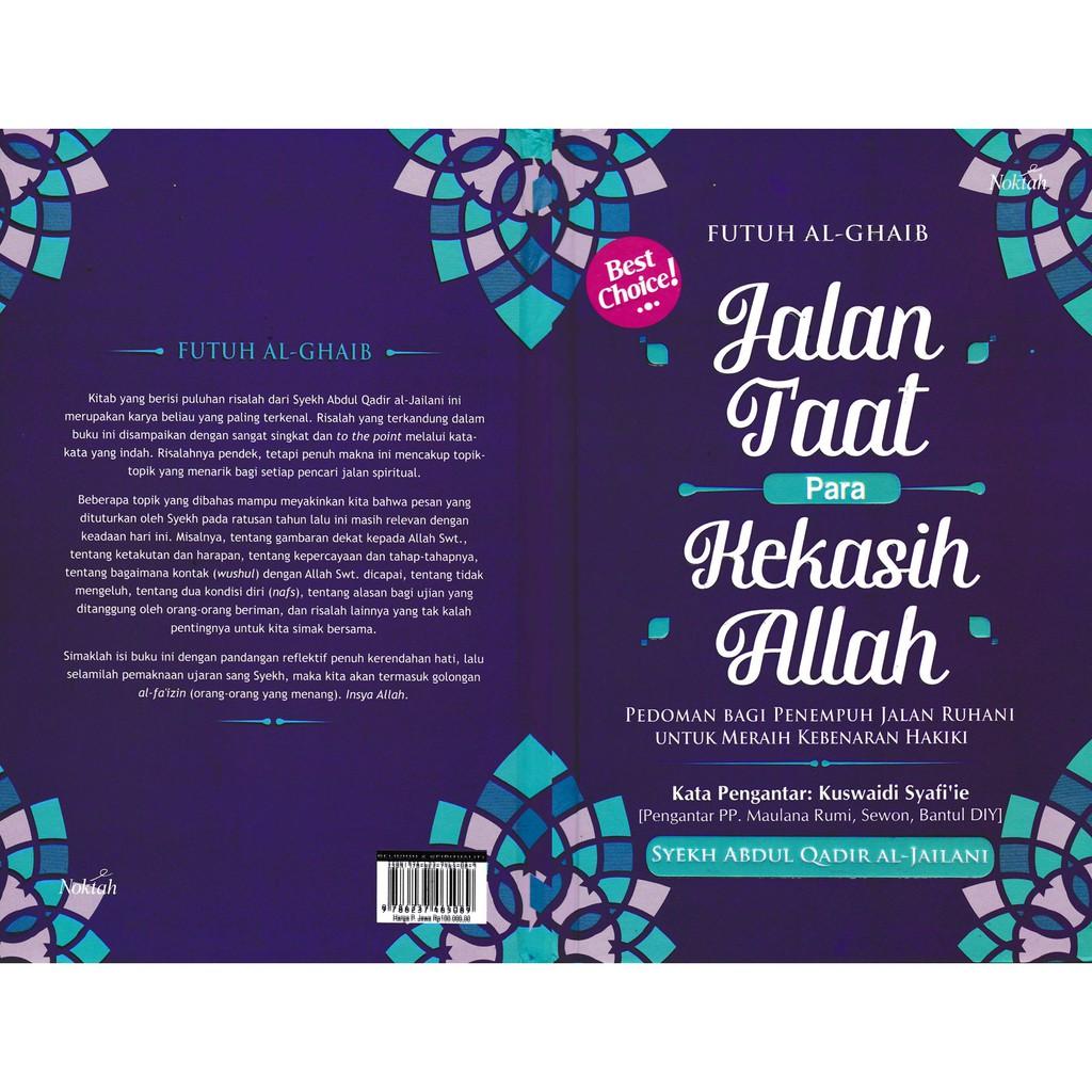 Buku Islam Murah Jalan Taat Para Kekasih Allah Shopee Indonesia