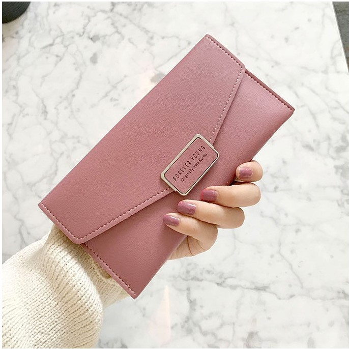 Peonia Korea Fashion Style Dompet Hp Wanita Clutch Premium Grade A for Clover Long Series   Shopee Indonesia