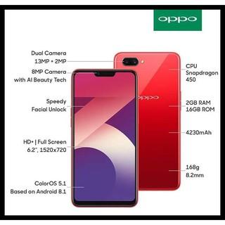 Harga preferensial TERPERCAYA OPPO A3S RAM 2/16GB GARANSI RESMI OPPO 1 TAHUN - Merah SPECIAL buy now - only Rp2.257.200