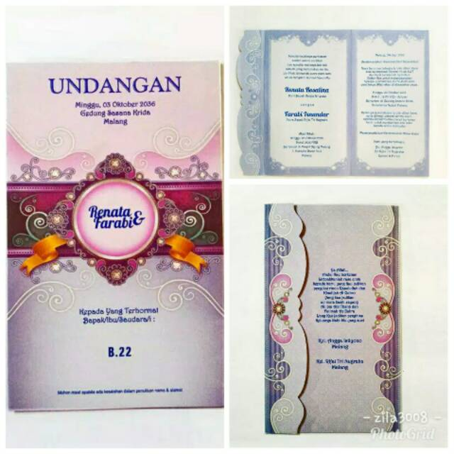 Wedding Invitation Murah Byar