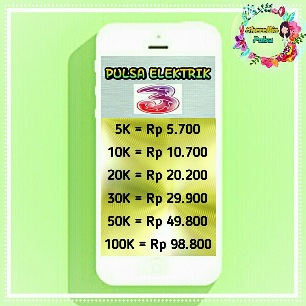 Pulsa Elektrik Telkomsel Variasi 25k 50k 100k Shopee Indonesia Data Rp 150000
