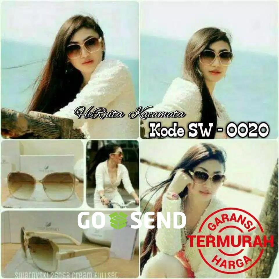 Kacamata Swarovski Syahrini   Ready 3 Warna   Kacamata Wanita Murah ... 851c3276aa