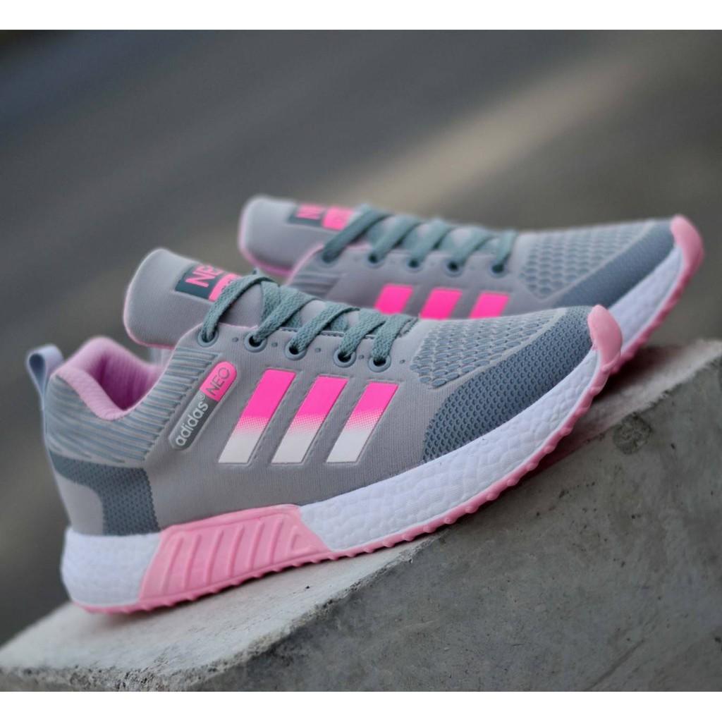 Sepatu Adidas Neo Running Sepatu Olahraga Wanita Sepatu Sport