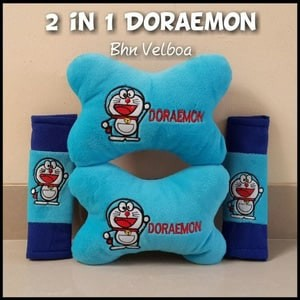 Bantal mobil Doraemon 8 in 1 | Shopee Indonesia -. Source · Bantal Inflatable Travel
