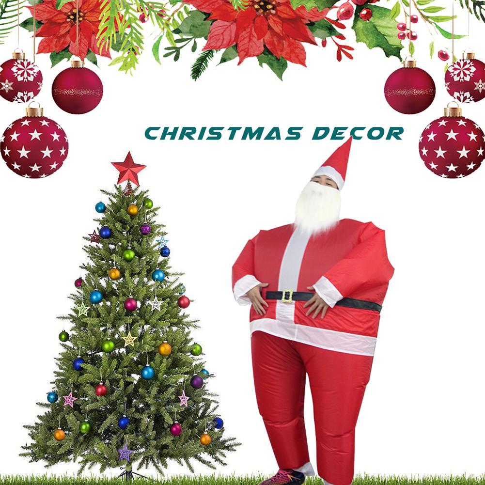 Kostum Tiup Lucu Bentuk Santa Claus Untuk Pesta Natal