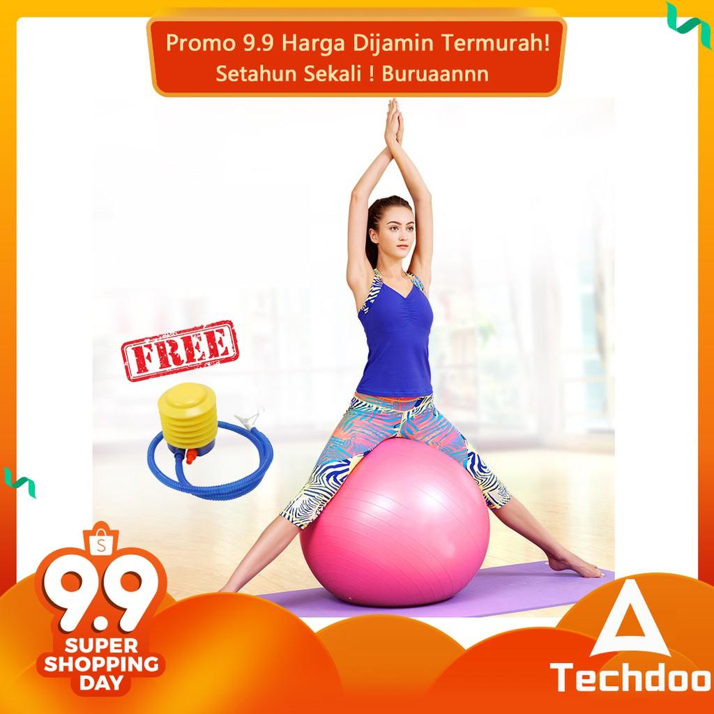 Promo Belanja Gymball Online September 2018 Shopee Indonesia Gym Ball Fitness Bola Olahraga Senam Yoga Kesehatan