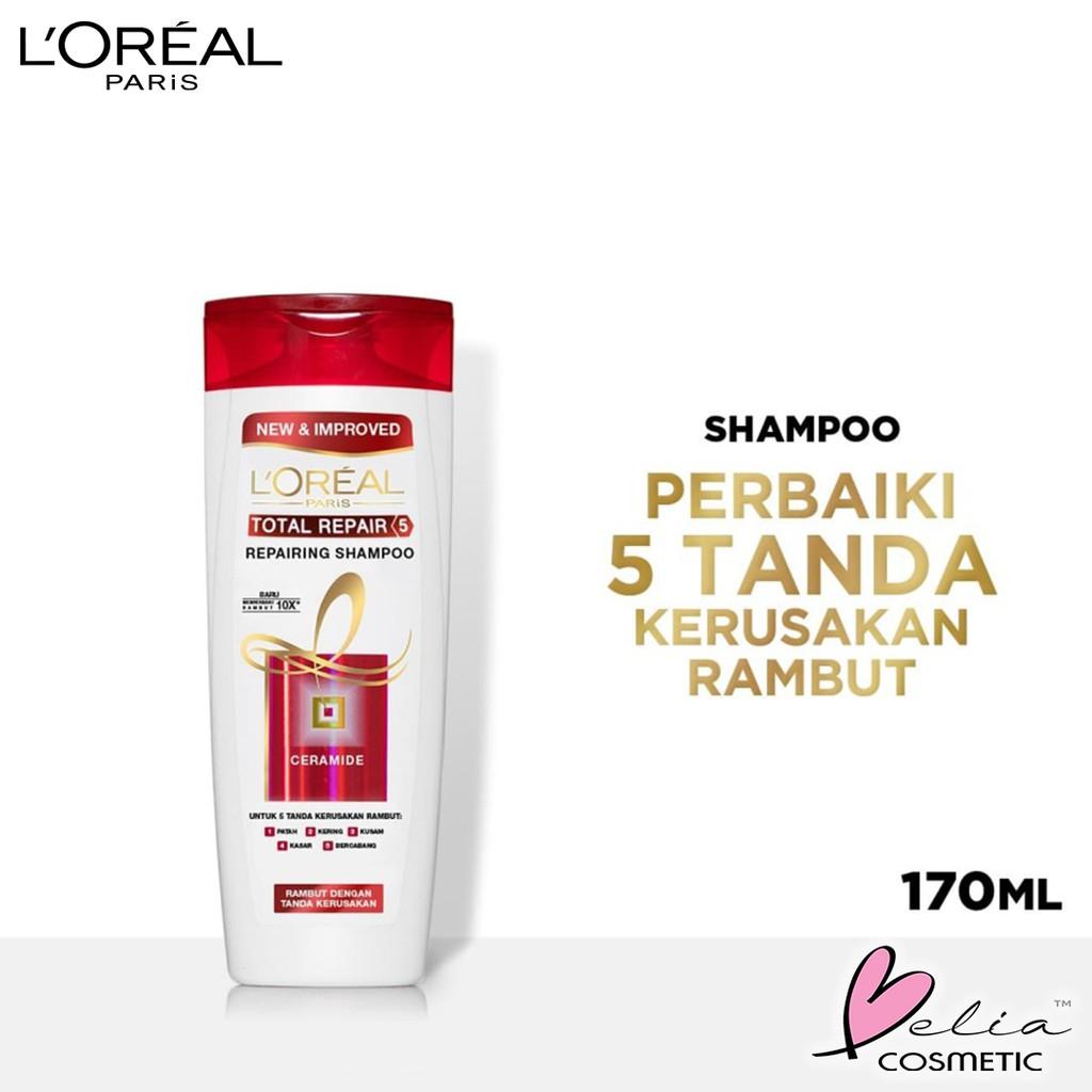 ❤ BELIA ❤ L'Oreal Paris Shampoo & Conditioner | Anti Rontok | Total Repair | Color Protect LOREAL-2