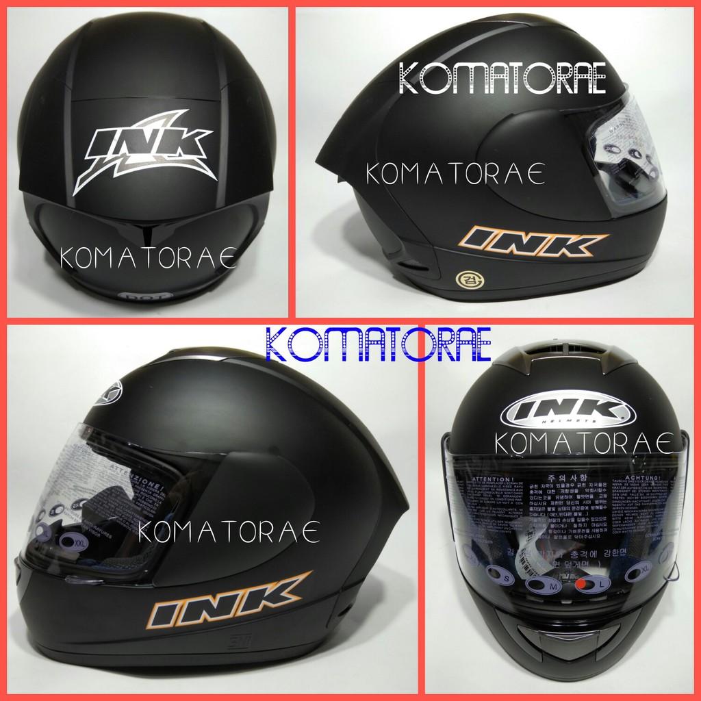 Helm Cargloss New Sport One Full Face Deep Black Shopee Indonesia Sircon Vr Holo Red Met Sesuai Gambar Size M