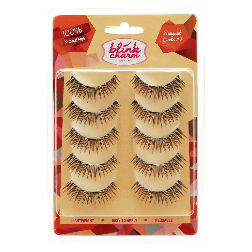 Blink Charm Eyelashes Sensual Curls #1 – 5 Pair