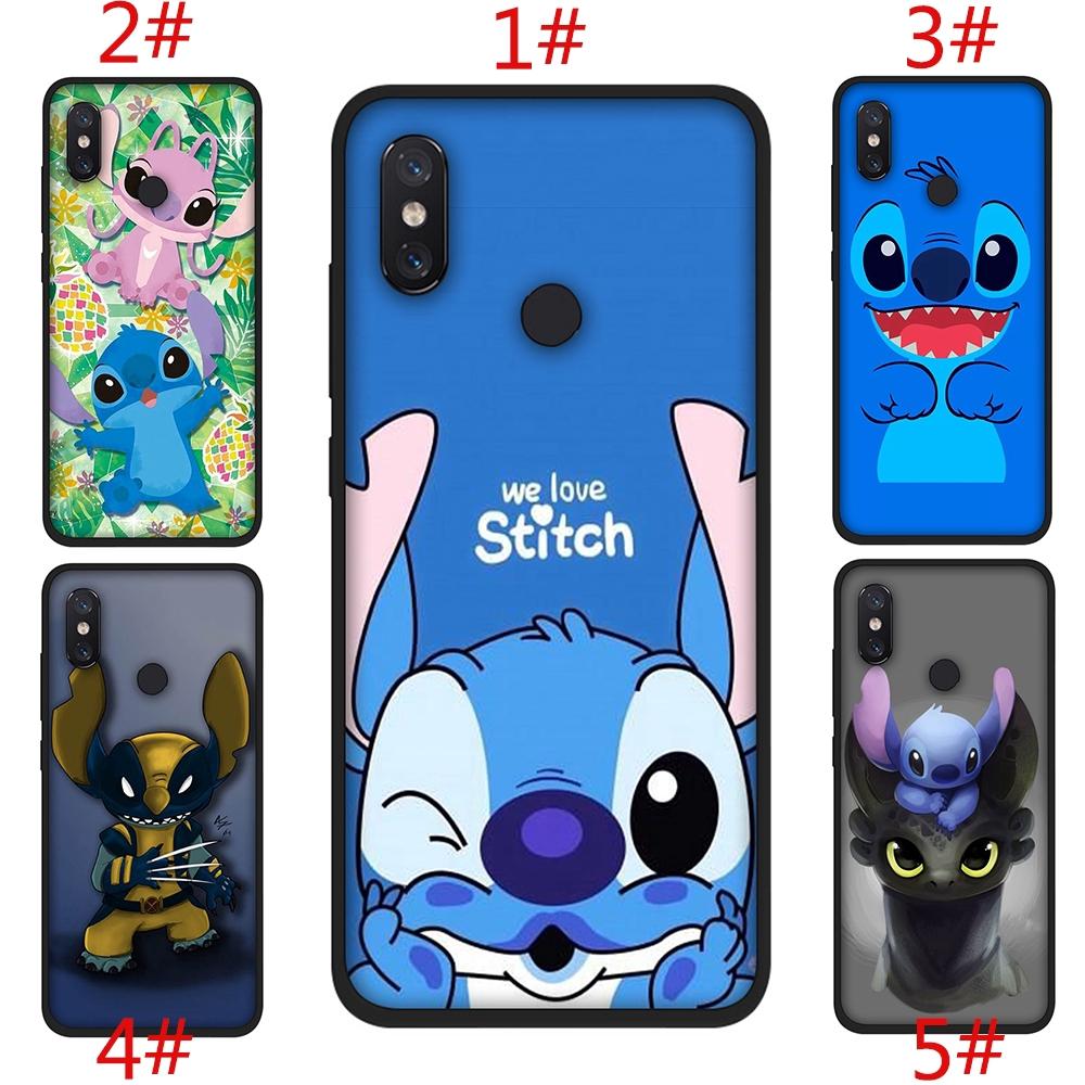 Casing Soft Case Silica Gel Gambar Kartun Stitch Lucu Untuk Xiaomi Mi6 Lite A1 6x A2 Lite F1 Max 3