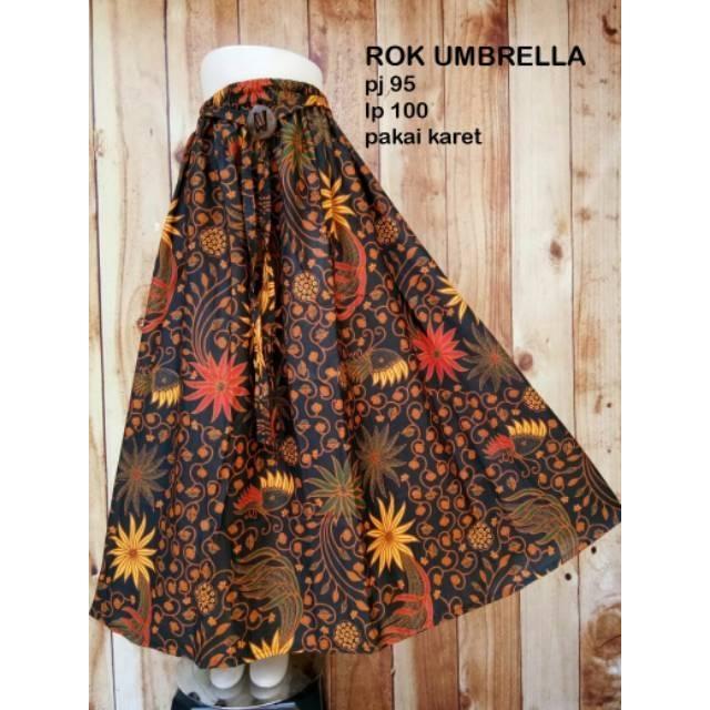 Rok Umbrella Rok Payung Batik