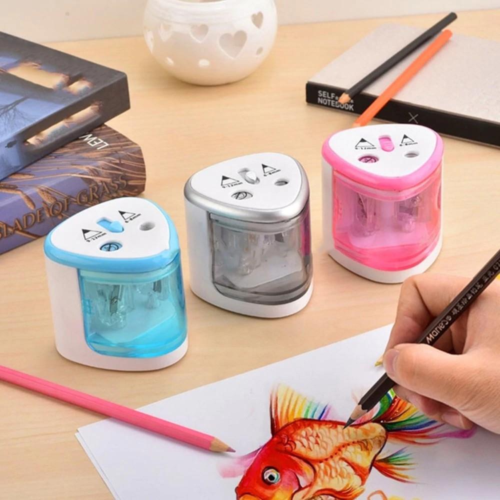 Jakar Automatic Battery Double Pencil Sharpener Pencil case School Colour Pens