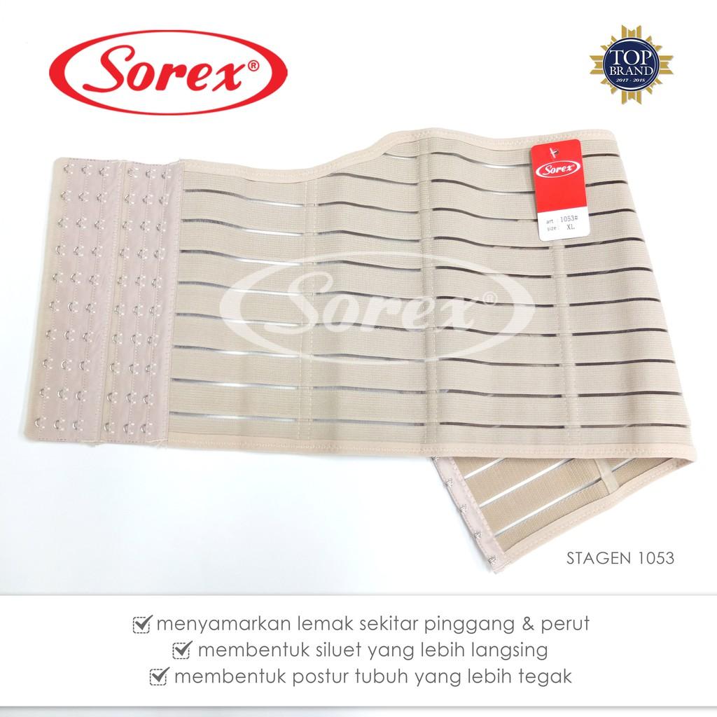 Sorex Stagen - Korset Pelangsing /Pengecil Perut stagen 1050   Shopee Indonesia