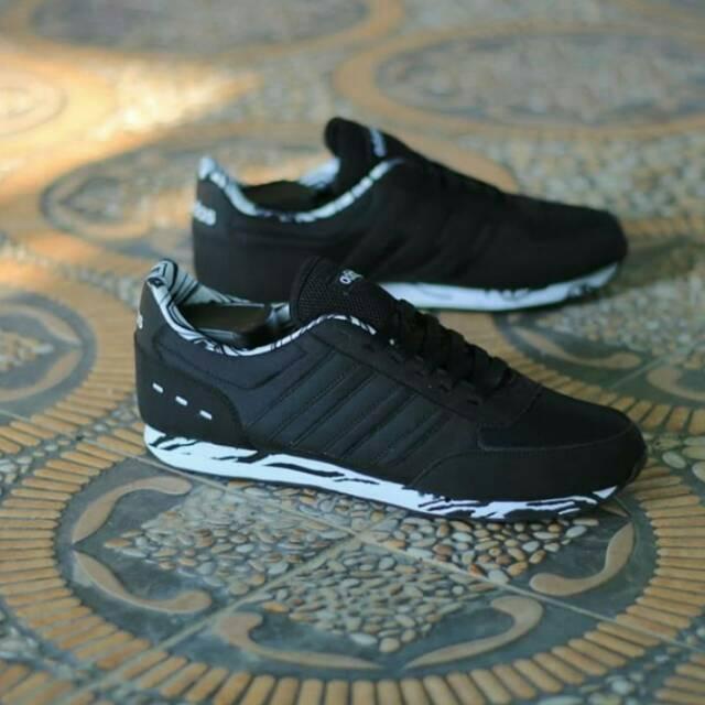 the best attitude a9242 e3fb1 Adidas Neo City Racer Original, Adidas ZX Racer, Sepatu Sneakers Pria