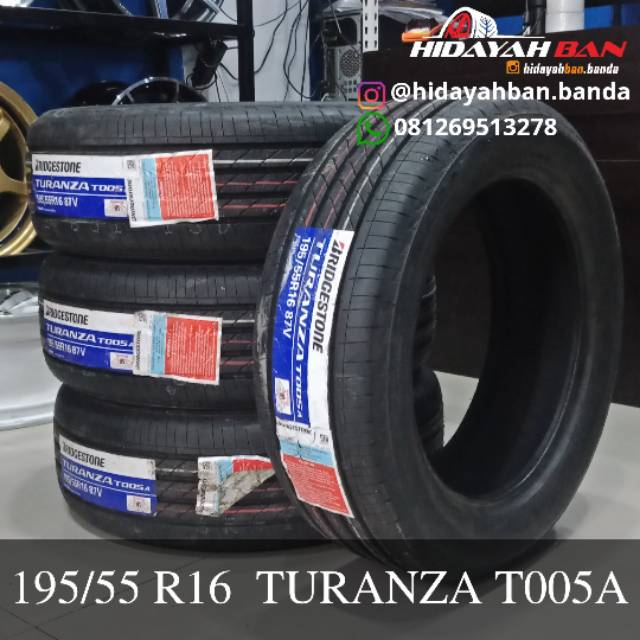 Ban Bridgestone Turanza Ukuran 195 55 Ring 16 Shopee Indonesia