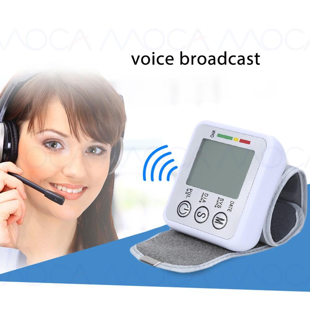 Moca Sphygmomanometer Pengukur Tekanan Darah Dan Denyut Pergelangan J 003 Tensimeter Digital Lengan Blood Pressure Monitor Tangan Portabel Shopee Indonesia