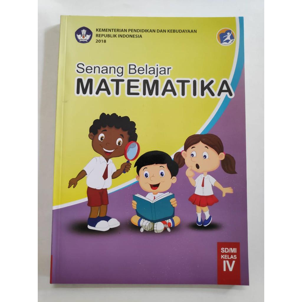 Matematika Kelas 4 Sd Kurikulum 2013 Revisi 2018 Terbaru Shopee Indonesia