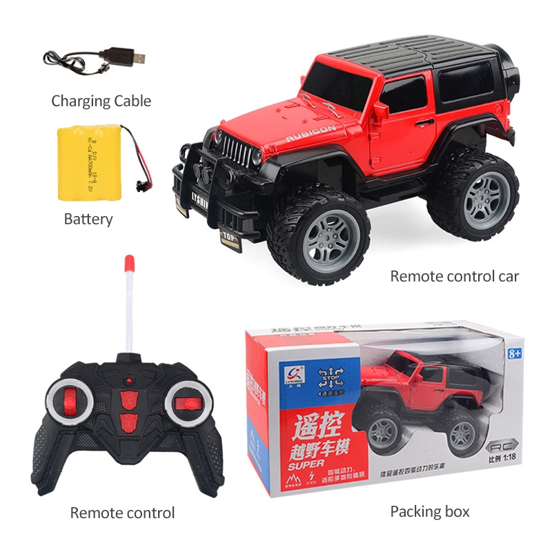 1//18 Off-road Remote Control Car Four-way Electric RC Car Children/'s Toys Gifts