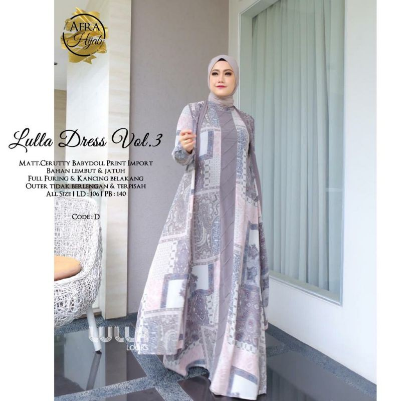 Lulla Dress Vol.3 original by LULLA LOOKS || khadijahidstore