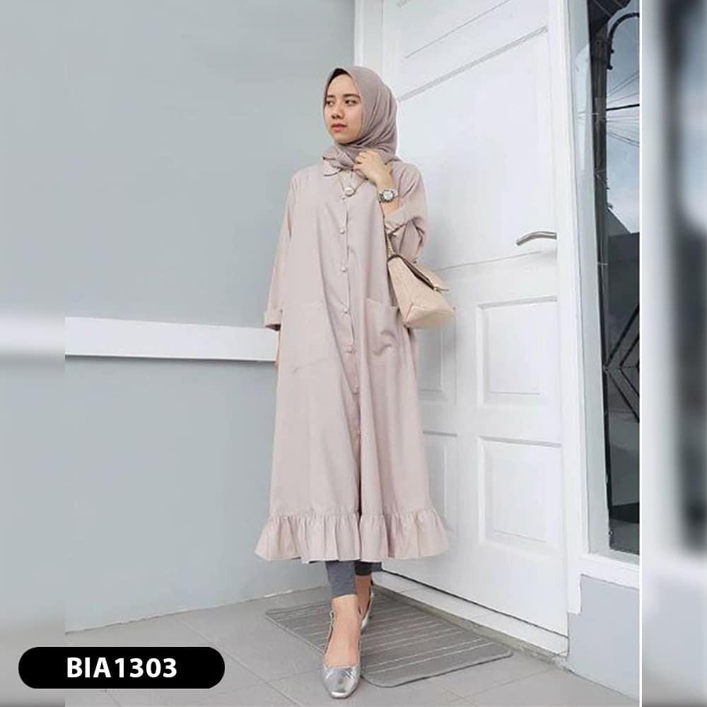 Velove Tunik Fashion Muslim Baju Tunik Panjang Baju Hijab Bagus Baju Muslim  Cantik Murah Bandung  2f67c181b5