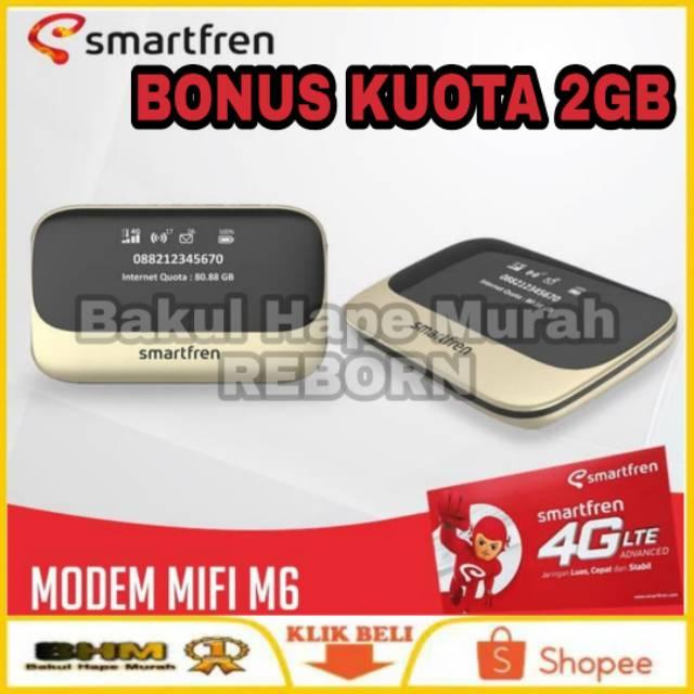 MIFI M6 - SMARTFREN 4G LTE